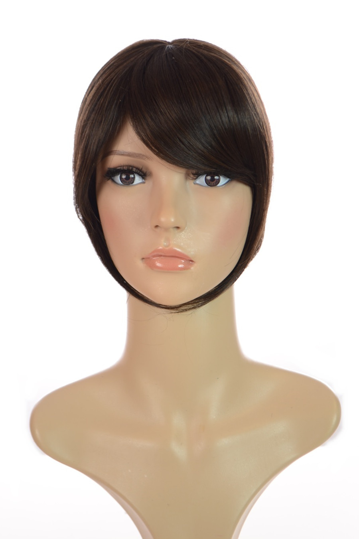 Hair Crown Topper Dark Chocolate Brown