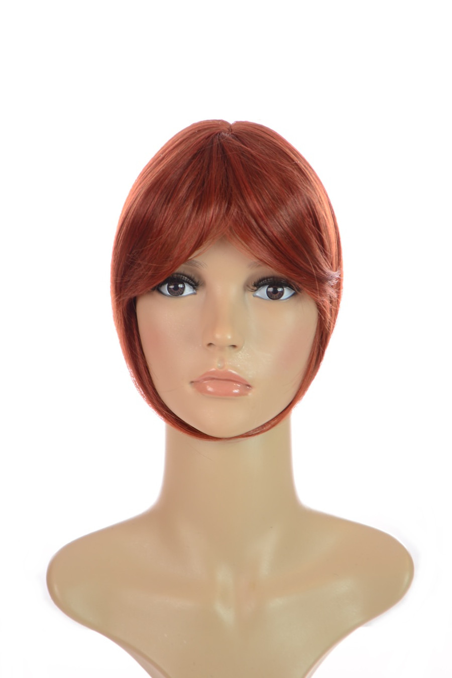 Hair Crown Topper Henna Red