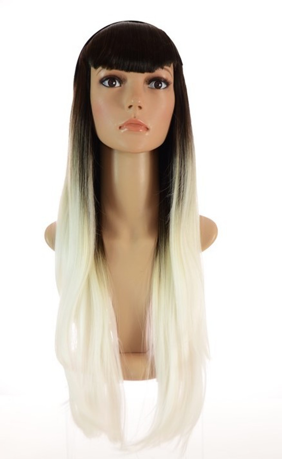 Grey White Ombre Wig