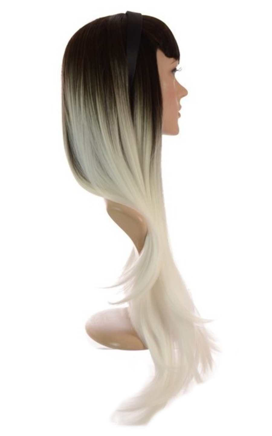 Grey White Ombre Wig Xtina