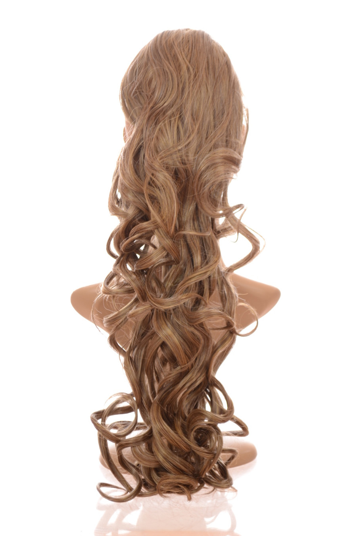 Pony Curly Sandy Ash Blonde