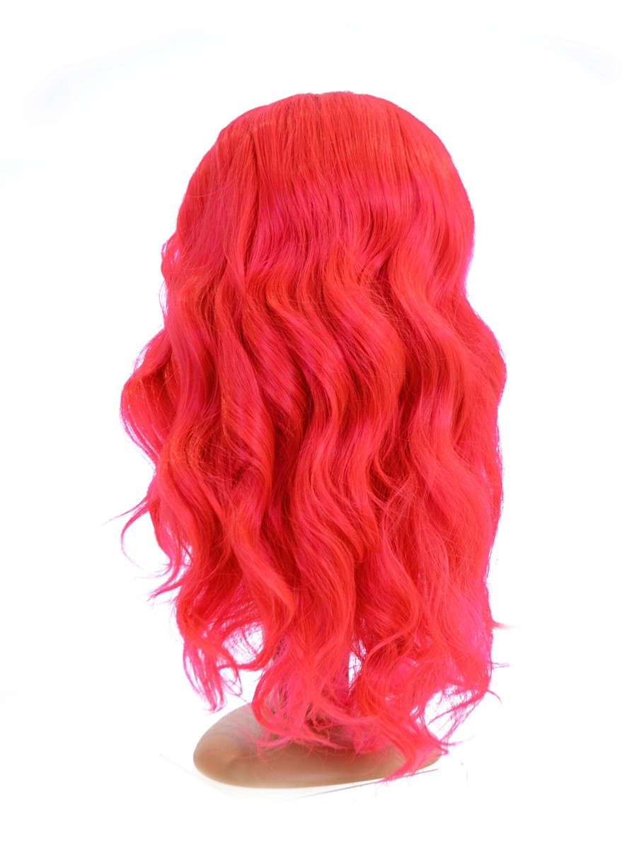 Vibrant Pink Swiss Lace Front Full Density Wig
