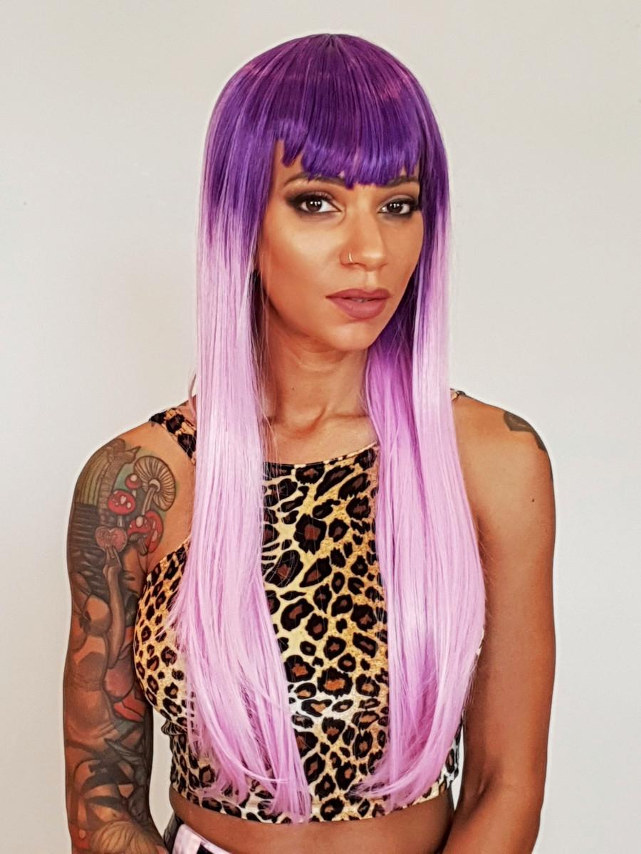 Lilac Purple Ombre Wig