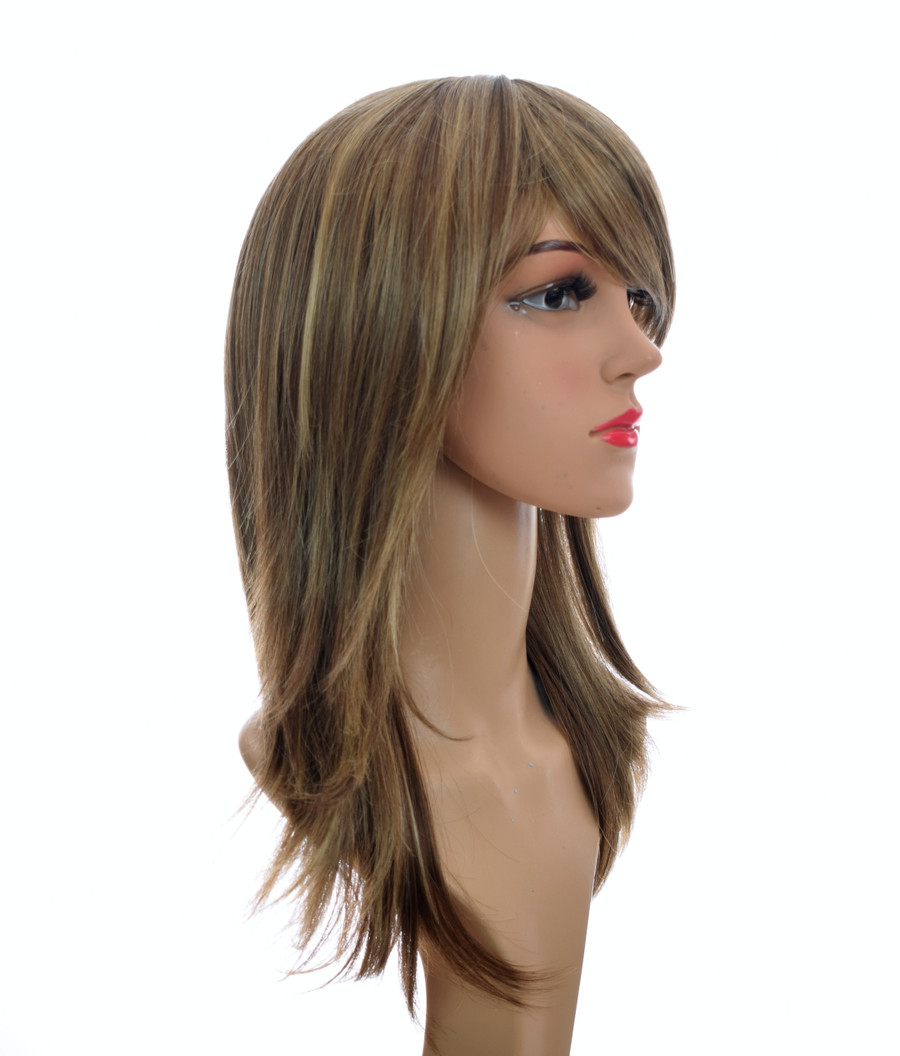 Silver Blonde 70's Flick Charlies Angels Inspired Wig
