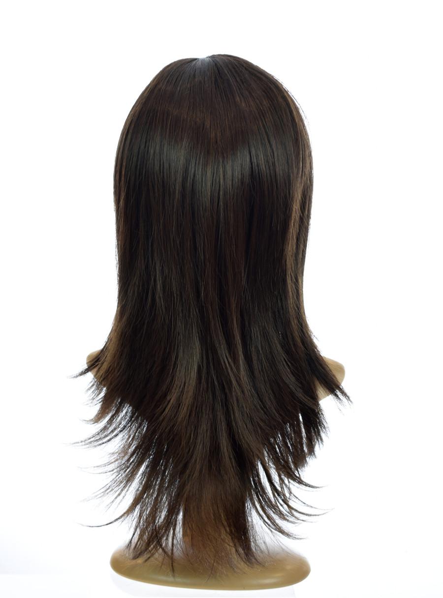 70's Flick Charlies Angels Inspired Wig. Dark Chocolate Brown