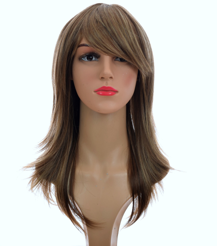 70's Flick Charlies Angels Inspired Wig. Silver Blonde