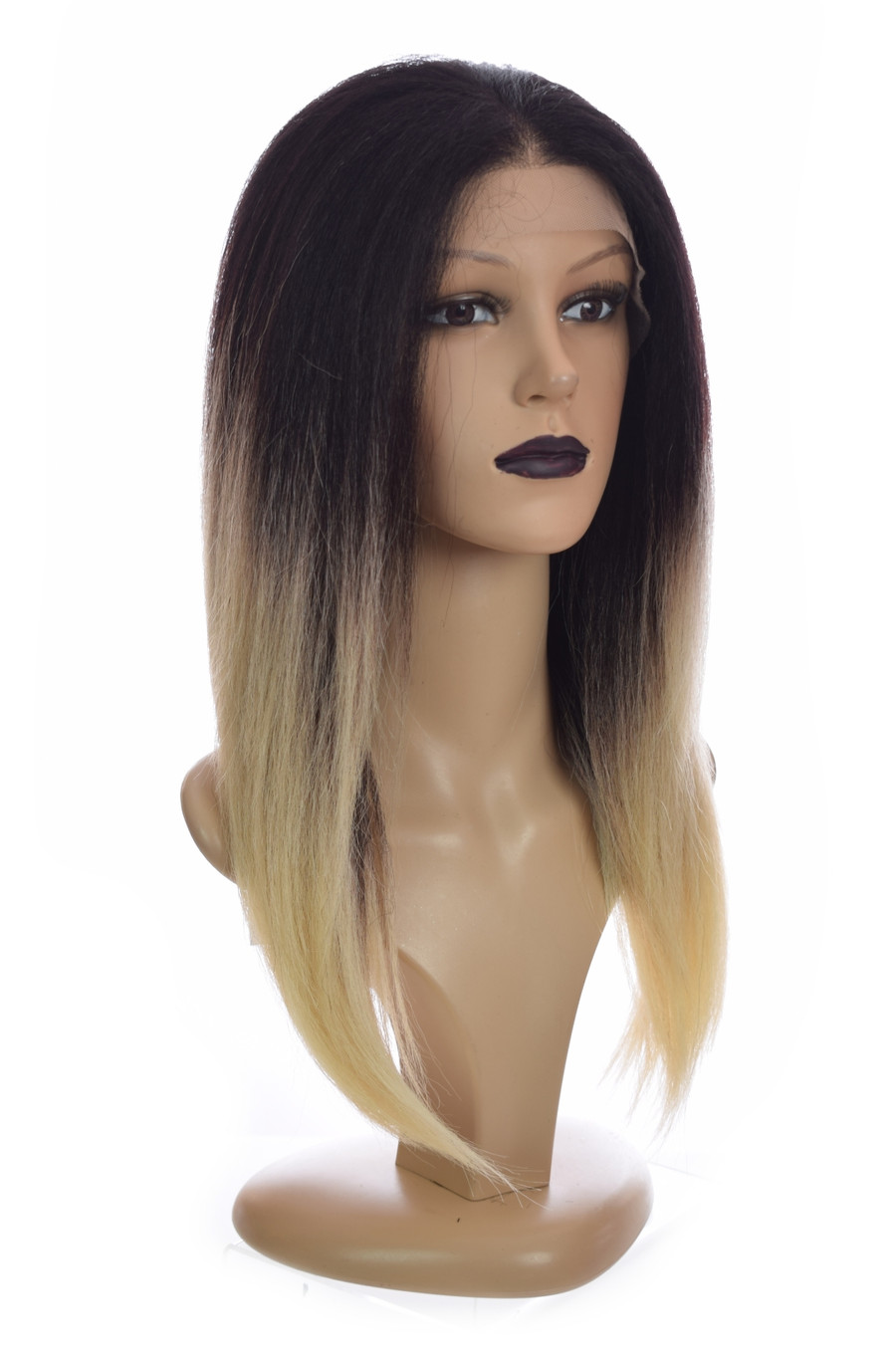 Ombre Straight Lace front wig Tori