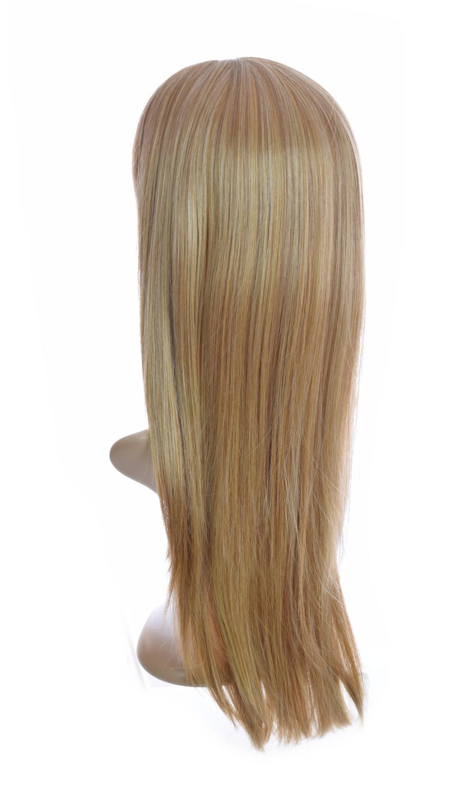 Fawcett Blonde Mix Collette Wig. Long Bangs Wig
