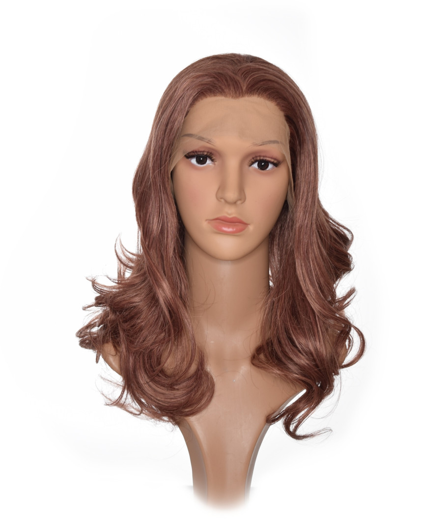 Honey Brown Kate Lace Front Hairstyle Wig