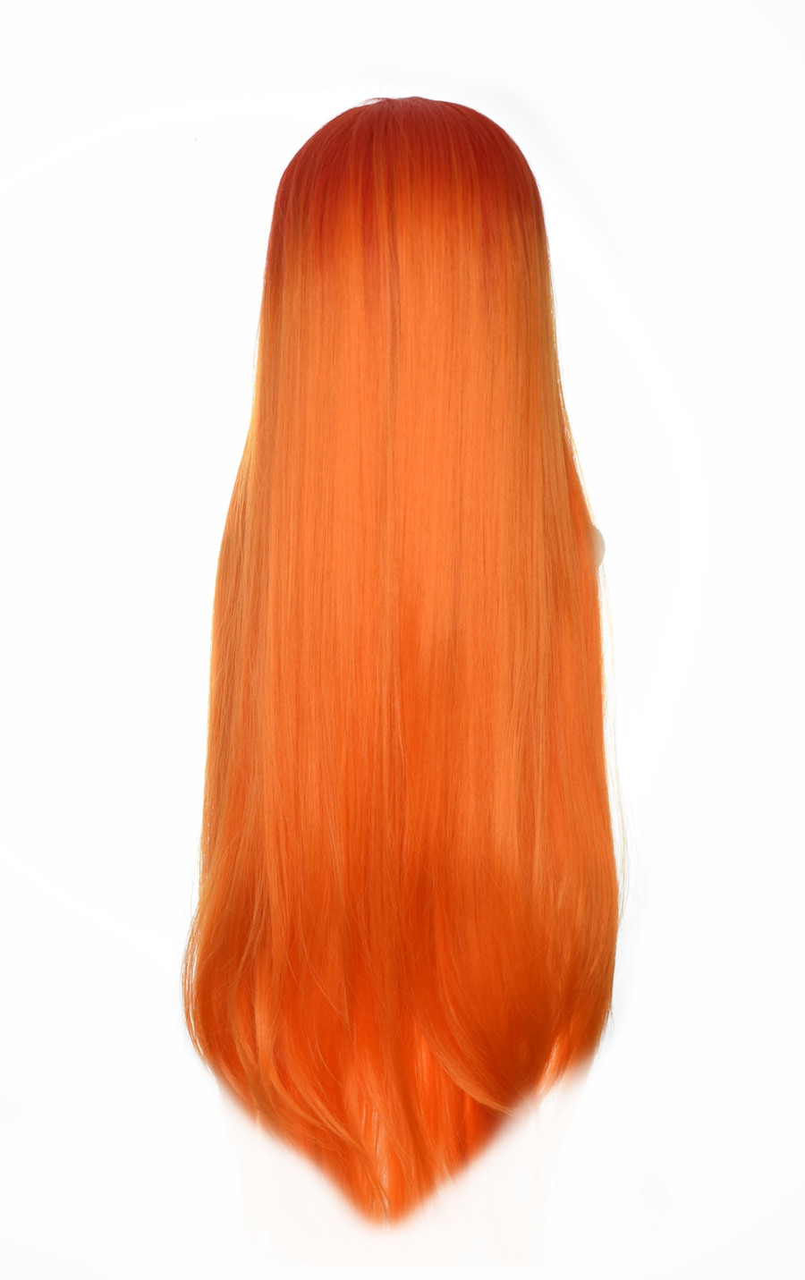 Orange Ombre Godiva XL Lace Front Wig,  DHW