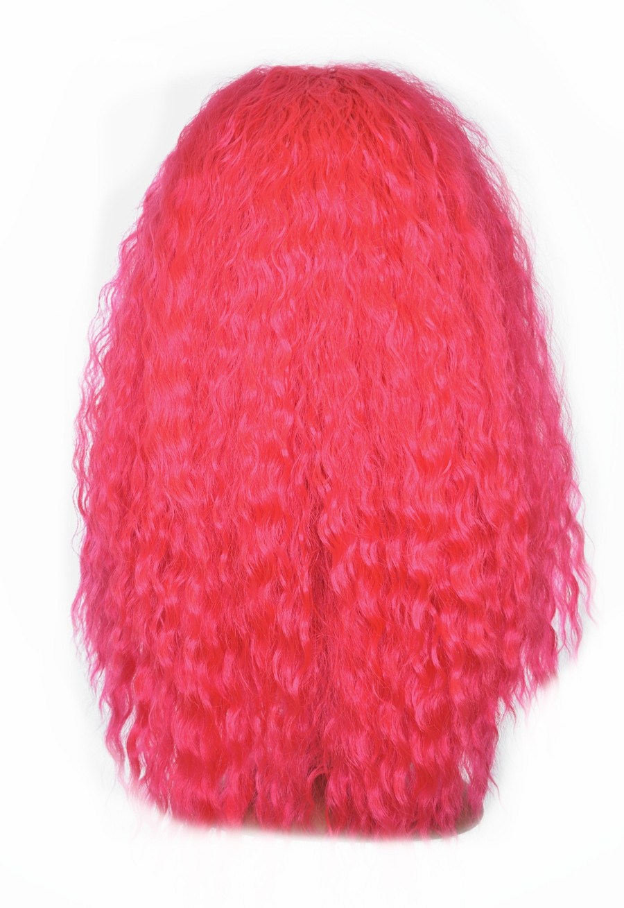 Pink Lace Front Wig. Bae Bea Shakira Inspired Wig