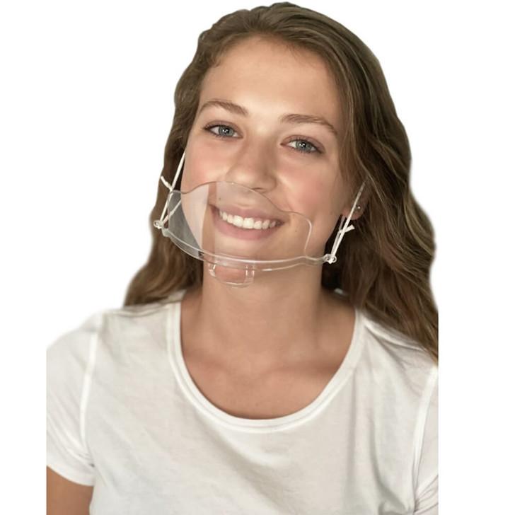 Clear MINI Face Mask