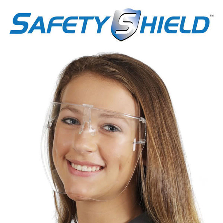 Safety Shield Full Clear Face Mask