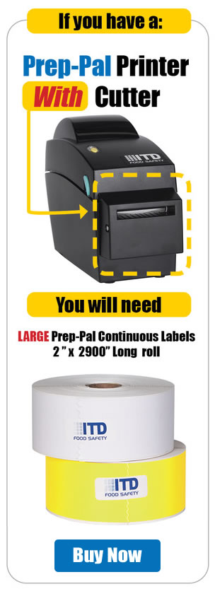 Perforated Labels, For Printer without Cutter