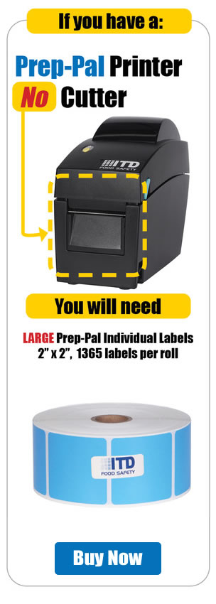 Continuous Labels, For Printer with Cutter