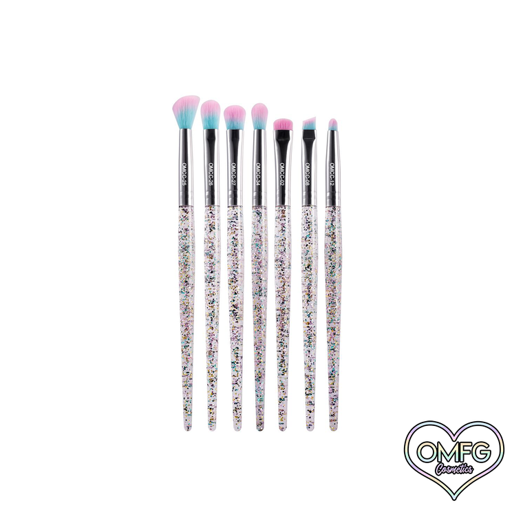 Cotton Candy Ultimate Eye Brushes