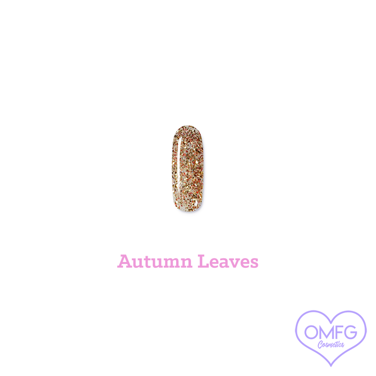 "UV Gel Nail Polish in shade ""Autumn Leaves"""