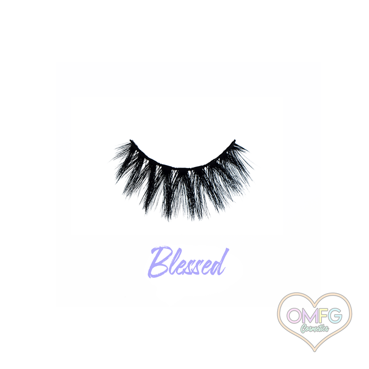 """""""Blessed"""" Premium Synthetic Lashes"""