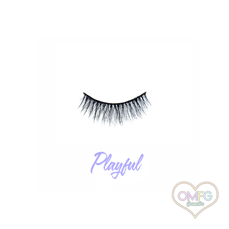 """""""Playful"""" Premium Synthetic Lashes"""
