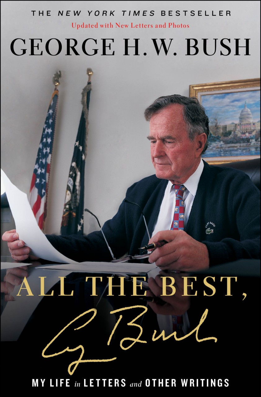 George H W Bush Signed Book All The Best