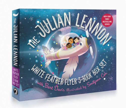 The Julian Lennon White Feather Flyer 3-Book Box Set