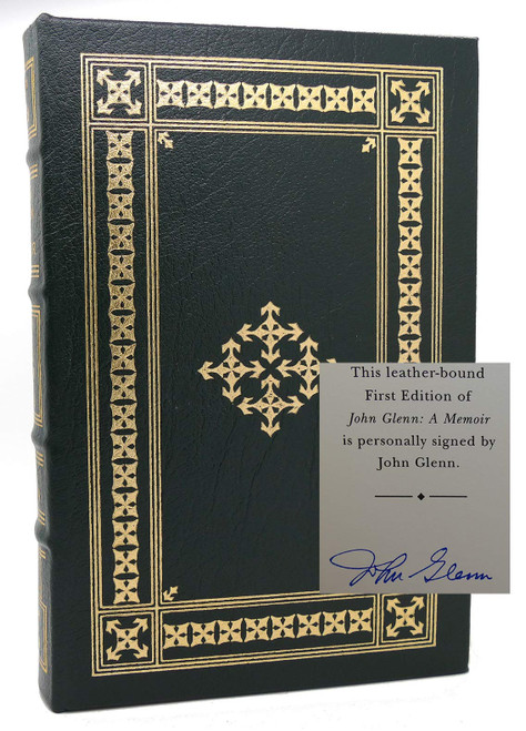 Leather bound Signed John Glenn Memoir