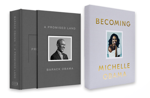 Obama Bundle Deluxe Edition: A Promised Land & Becoming