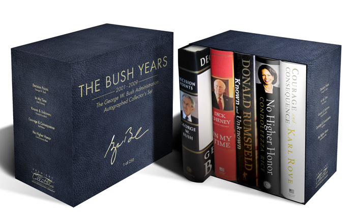 "Autographed Compilation Set ""The Bush Years"""