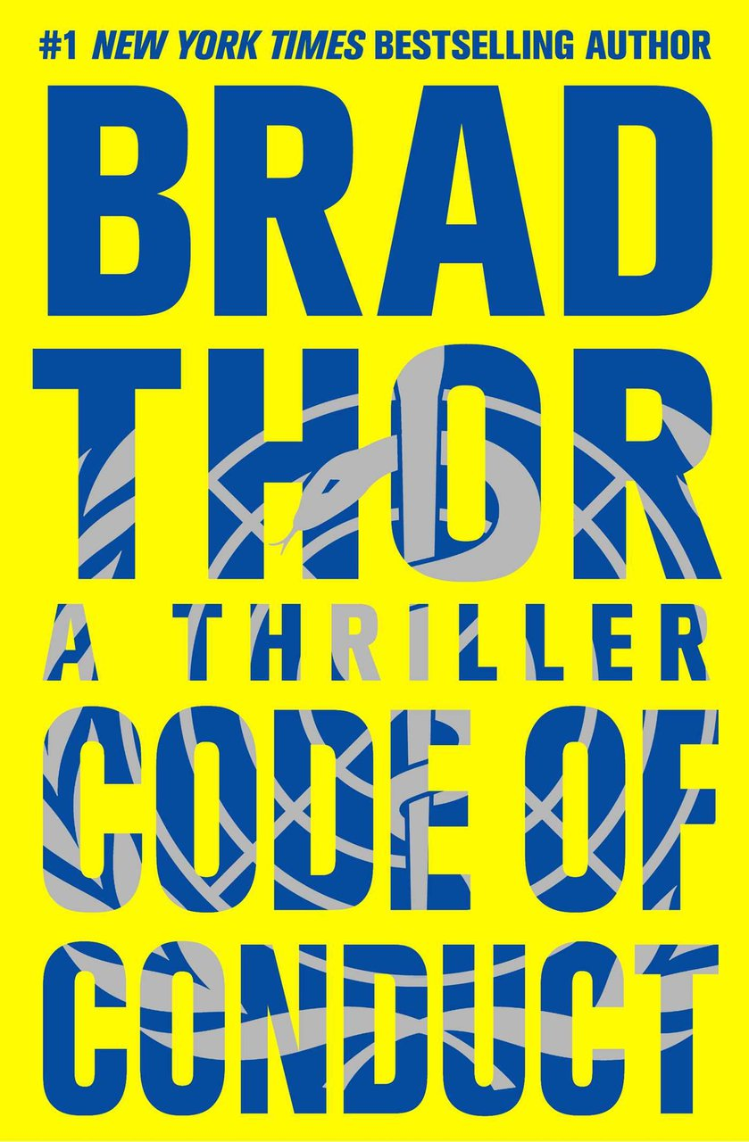 Code of Conduct Autographed by Brad Thor