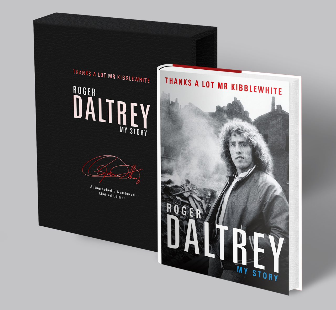 Thanks a Lot Mr Kibblewhite: My Story - Signed & Numbered Limited Edition (1-500) Presented in Deluxe Slipcase
