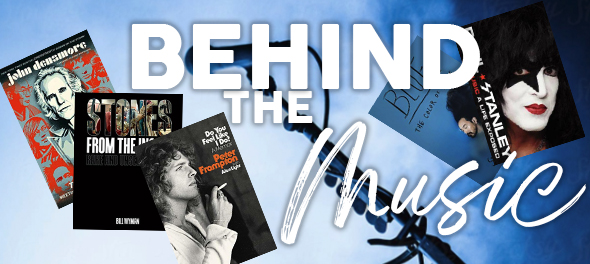 Autographed books by your Favorite Musicians