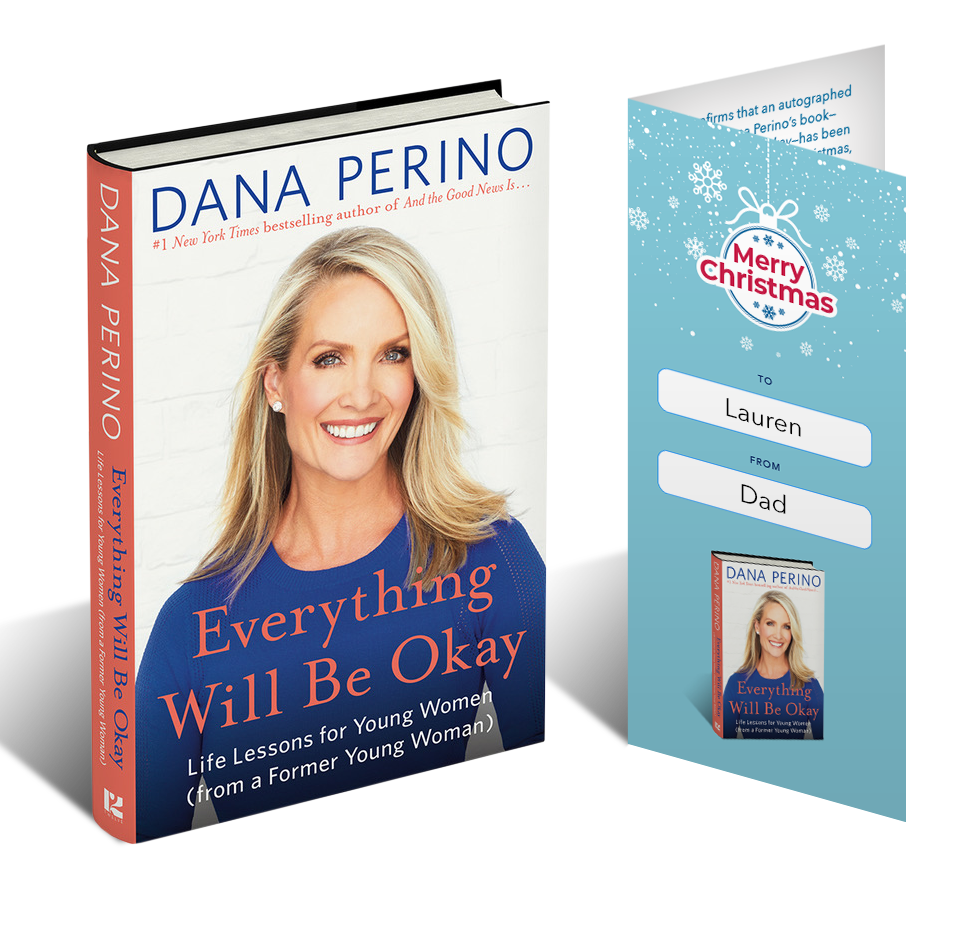 Everything Will Be Okay: Life Lessons for Young Women (from a Former Young Woman) w/ Gift Certificate by Dana Perino