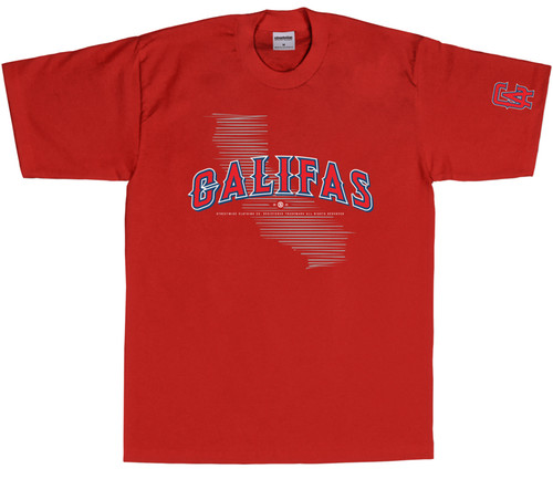 Streetwise Cali Angels T-Shirt RED