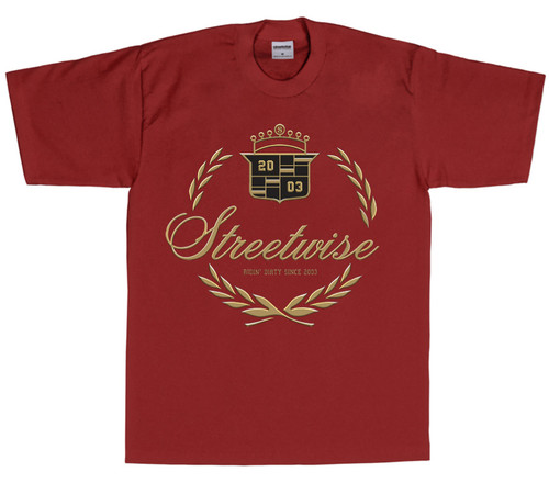 Caddy T-Shirt (Burgundy)