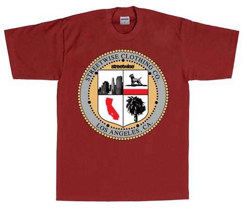 L.A. Seal T-Shirt Burg