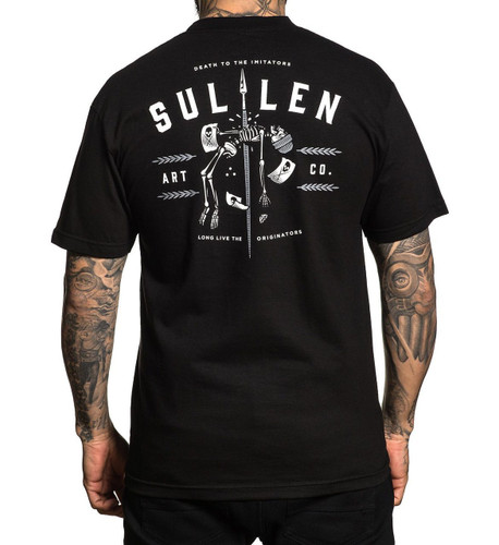 Sullen Imitators T-Shirt (back)
