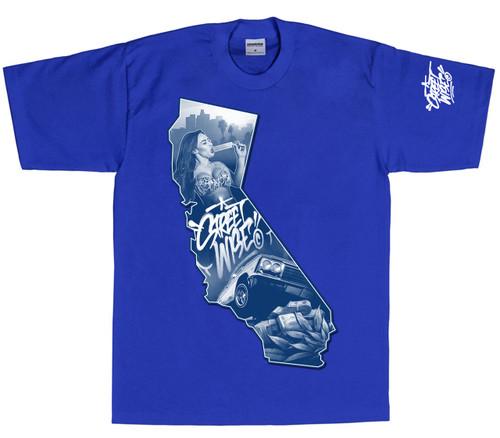 Streetwise Cali Blues T-Shirt