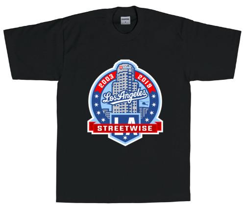 Streetwise LA Crest T-Shirt (BLK)