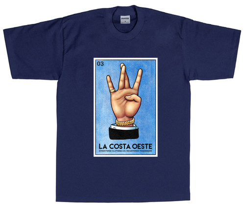 Streetwise La Costa Oeste T-Shirt (NVY)