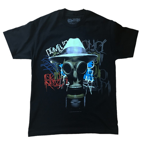 Psycho Realm Noise T-Shirt in black front side