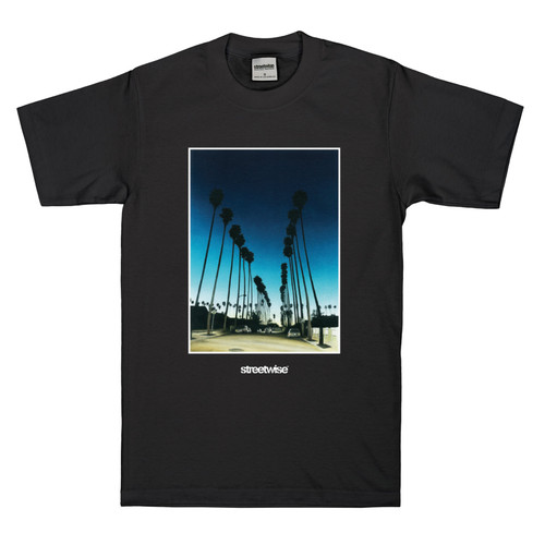 Streetwise Sunset T-Shirt BLK
