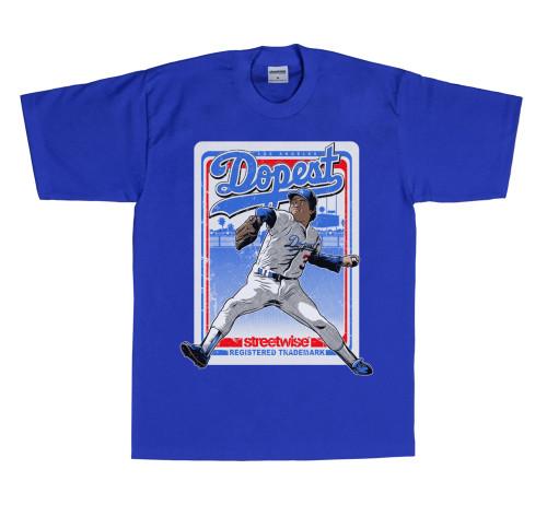 Streetwise Fernando Mania T-Shirt in Royal Blue