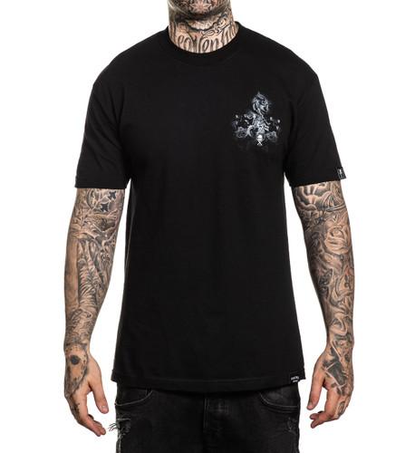 Sullen Cool Gray T-Shirt Chest Print