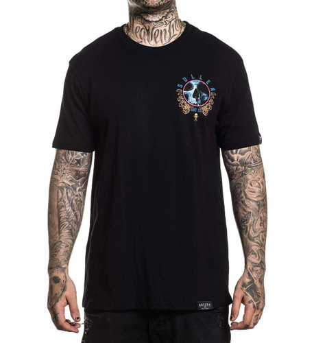 Sullen Vision T-Shirt chest print