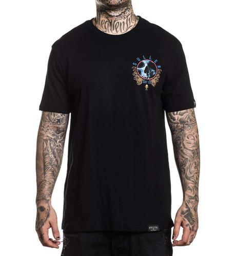 Sullen Vision T-Shirt chest print