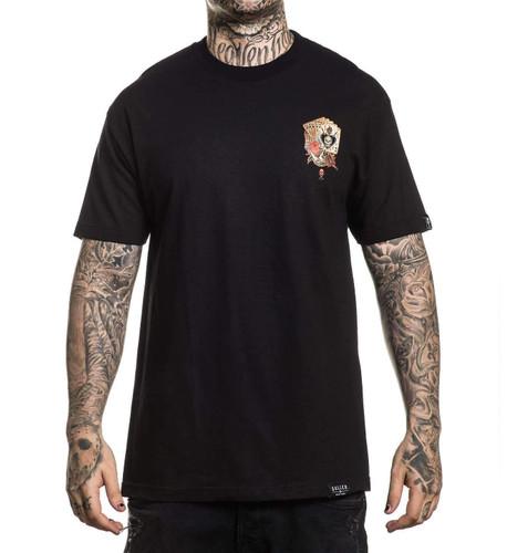 Sullen Dead Mans Hand T-Shirt chest print
