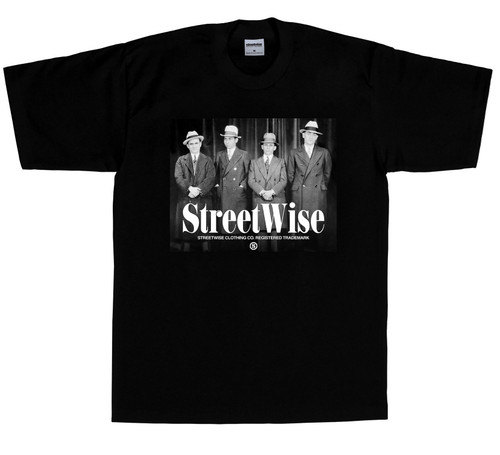 Streetwise Wiseguys T-Shirt (front)