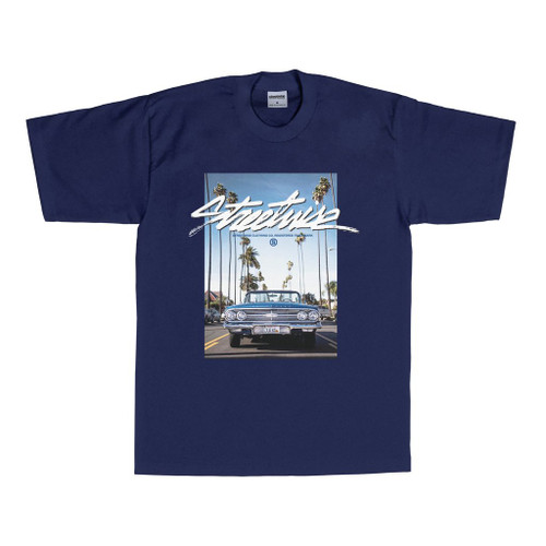 Streetwise Droptop T-Shirt NVY