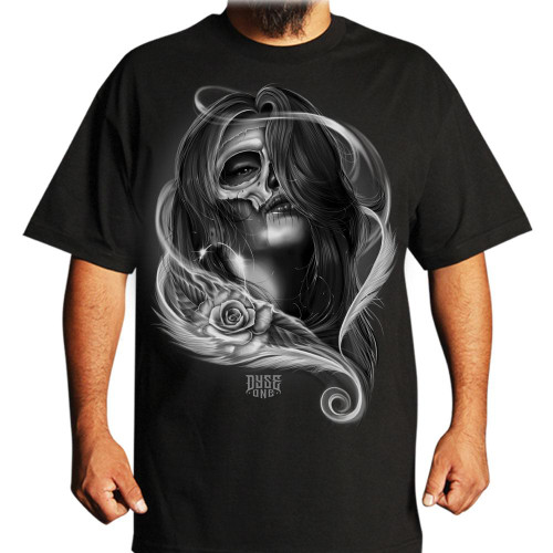 Dyse One Real Eyes T-Shirt in black