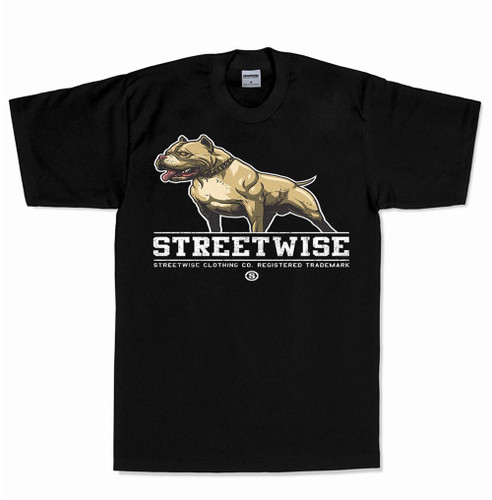 Streetwise My Perros T-Shirt in black